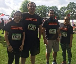 Housing team runs Windsor half Marathon 2017