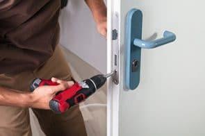Change of door lock