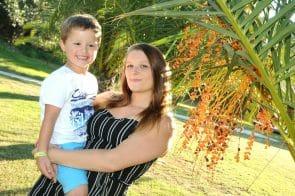 Image of Dani morris and son