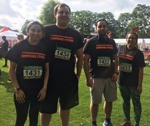 Housing team runs Windsor half Marathon 2017
