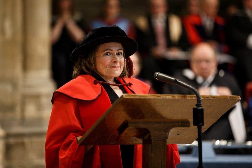 University of Kent conferred an honorary degree to Jocelyn Cockburn