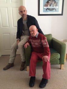 Joe UIleri with brother Giovanni