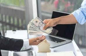 Paying money to an agent