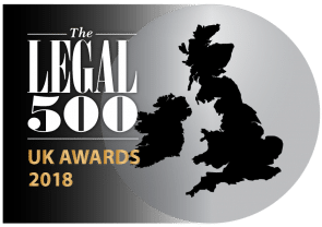 Legal 500 UK awards-2018